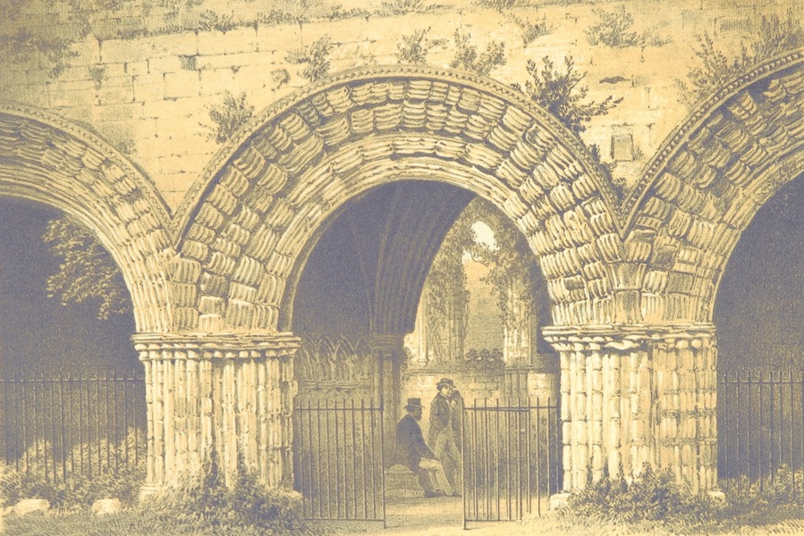 Norman Arch, Chapter House, Furness Abbey