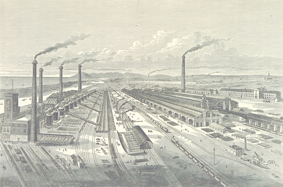 Barrow Haematite Iron and Steel Works