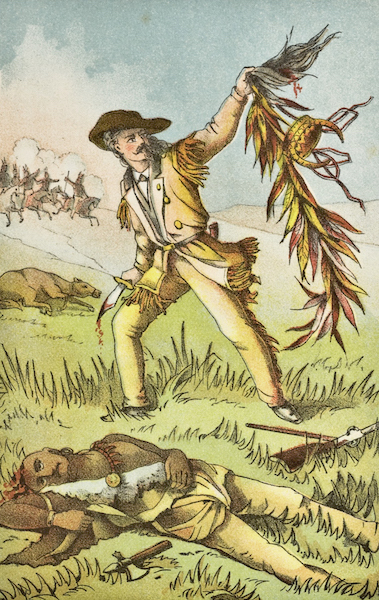 Buffalo Bill's Duel with Yellow Hand