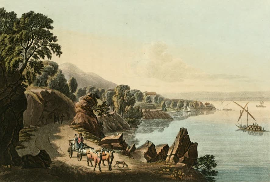 View of the Banks of the Lake of Geneva near St. Gingouph