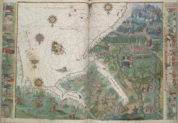 Arabian Sea, Red Sea, and Persian Gulf